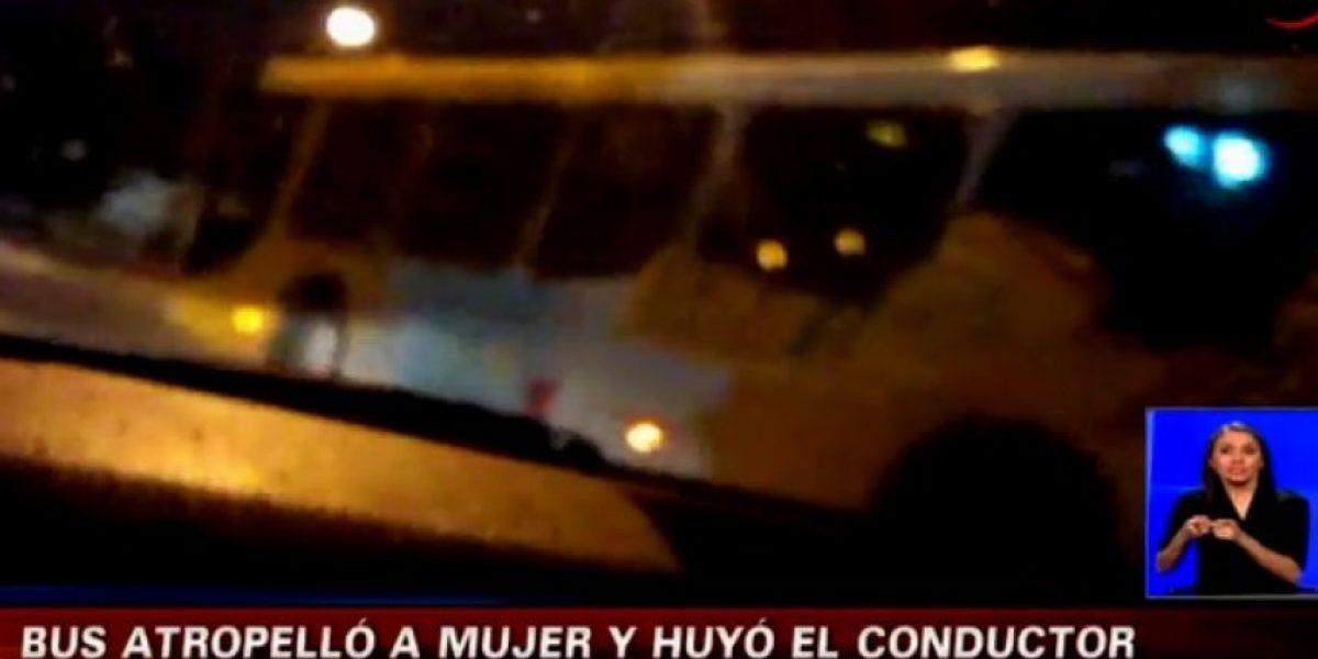 Conductor del Transantiago atropelló y mató a una señora en Puente Alto
