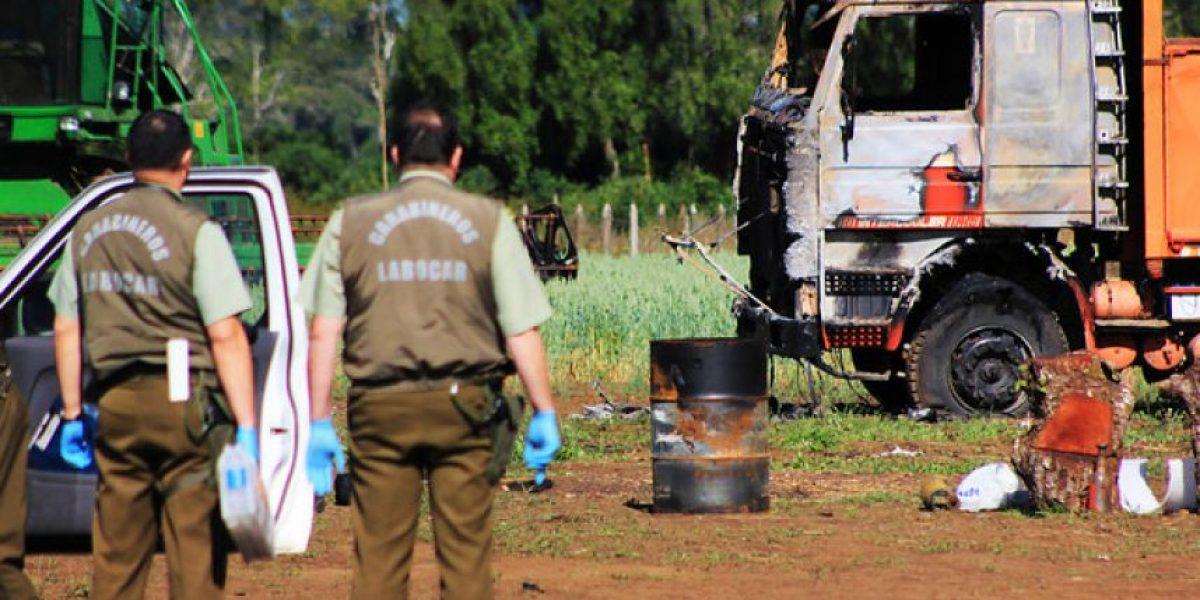 Gobierno negocia con aseguradora para cubrir atentados en la Región de la Araucanía