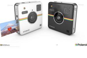 Las fotos se pueden compartir automáticamente en redes sociales o imprimir a color en papel de 5.8*7.62 cm con reverso adhesivo en menos de un minuto. Cuesta 299.99 dólares. Foto:Polaroid. Imagen Por: