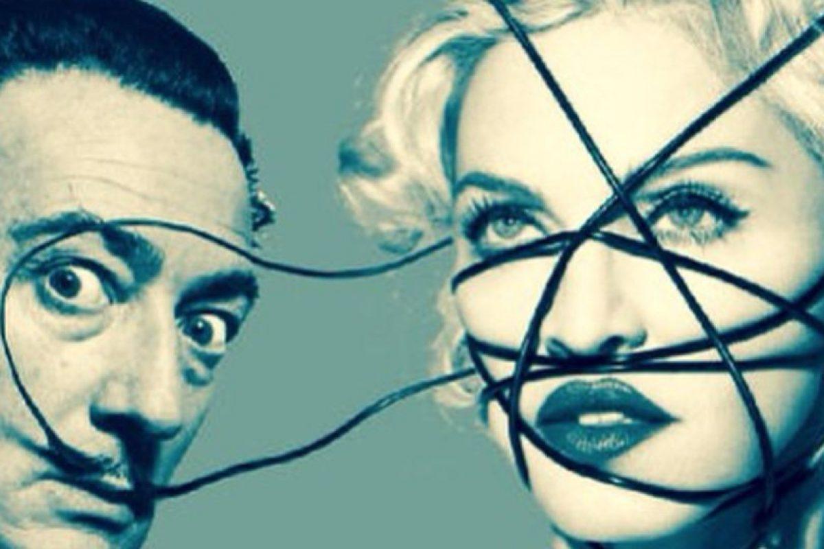 Dalí Foto:Instagram/Madonna. Imagen Por: