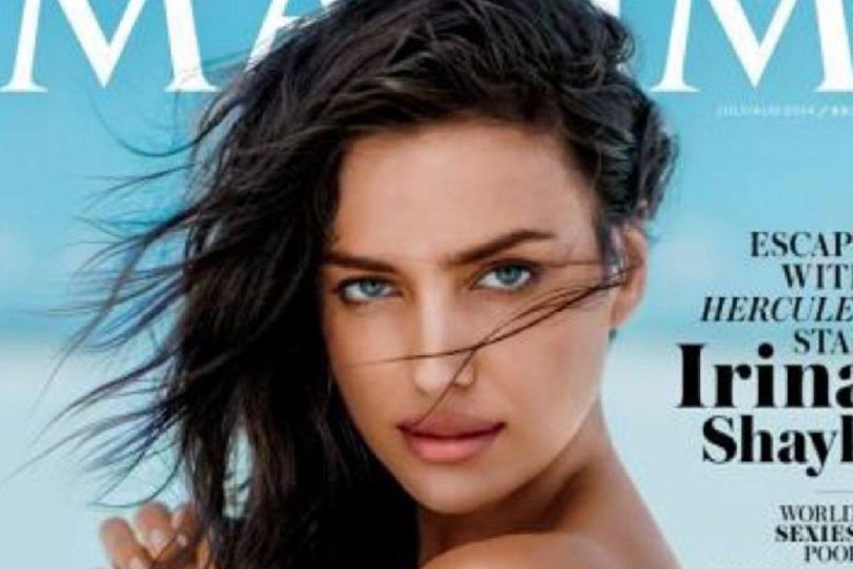 La Roca festejó que Irina posara en la revista Maxim Foto:Instagram: @therock. Imagen Por: