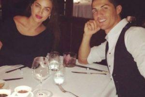 El 5 de octubre el portugués publicó una imagen durante una cena íntima con Irina. Foto:instagram.com/cristiano. Imagen Por: