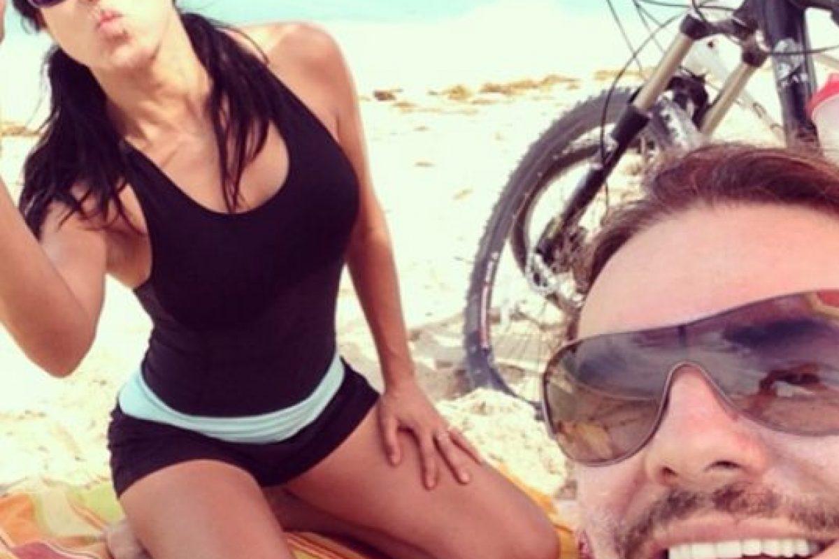 Mónica Noguera y Fher Olvera Foto:Instagram/monicanoguera. Imagen Por: