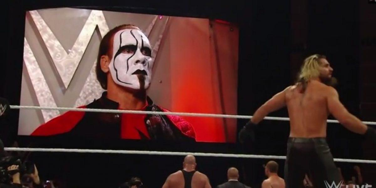 Video: La nueva aparición del legendario Sting que deleitó a los fanáticos de la WWE