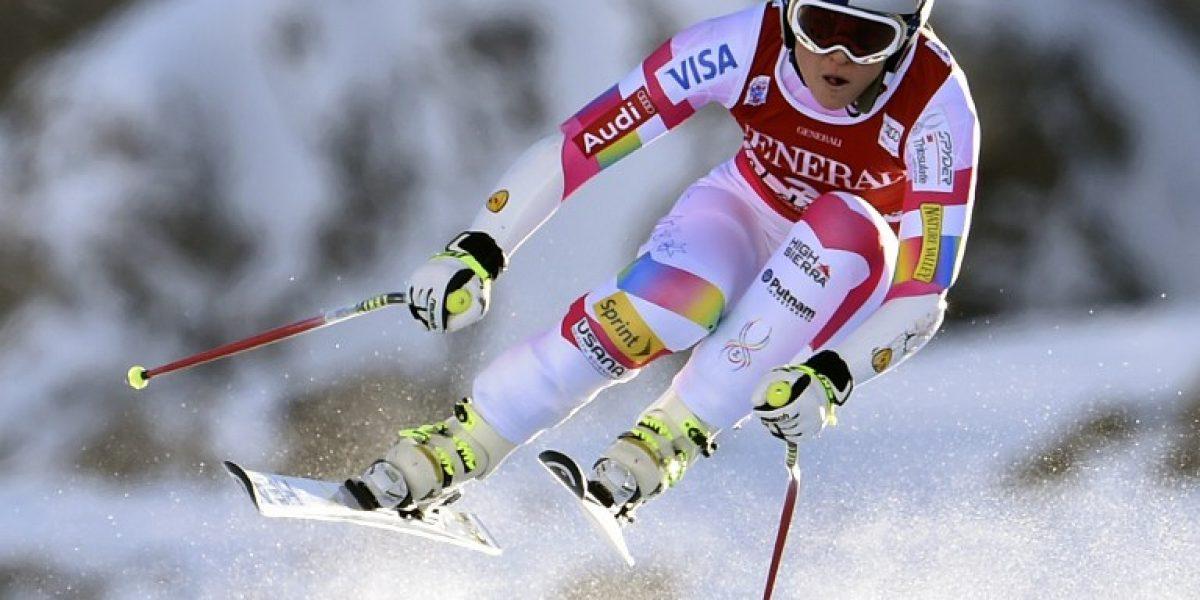 El bochornoso accidente que sufrió Tiger Woods por ir a ver esquiar a su hermosa novia