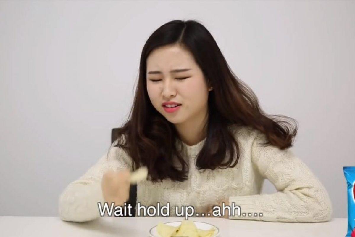 Varias mujeres coreanas probaron bocadillos populares norteamericanos. Foto:sw yoon/Youtube. Imagen Por: