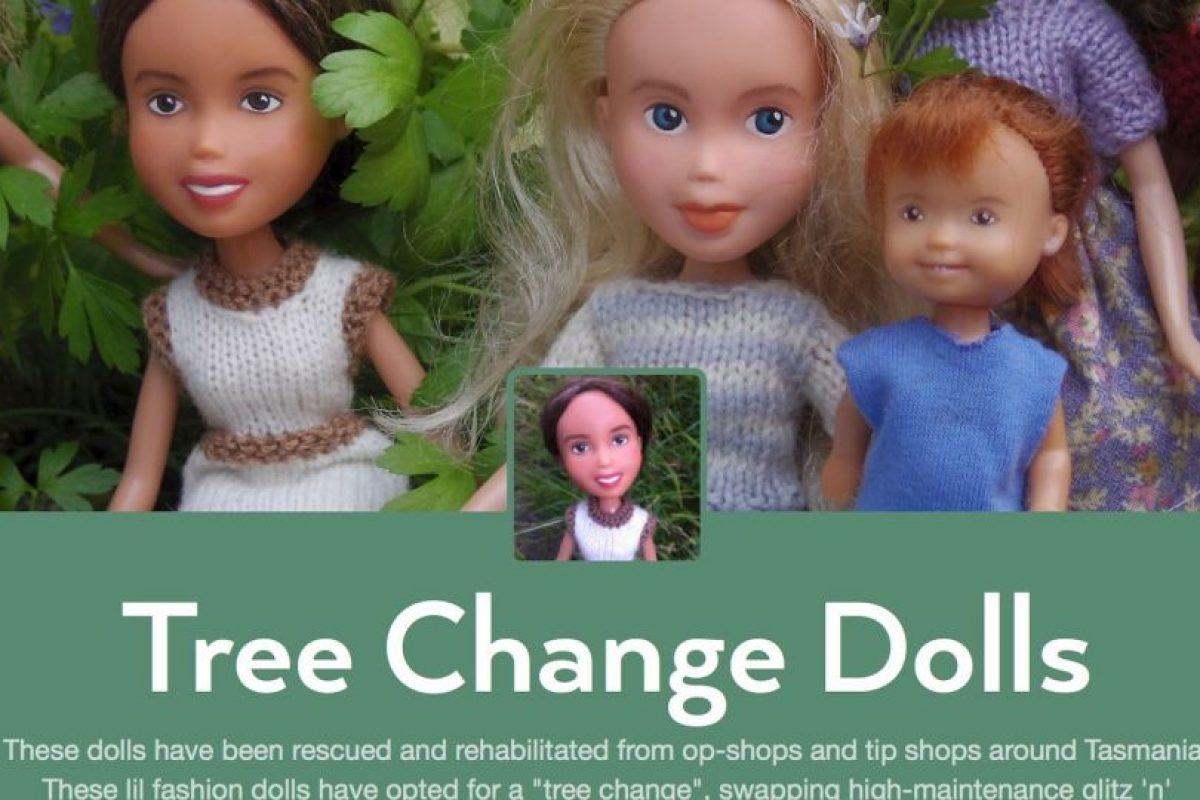 """Ellas muestran un glamour """"con los pies en la Tierra"""" Foto:Tree Change Dolls /Tumblr. Imagen Por:"""