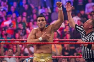 9. 40 personas entraron a la batalla de 2011, que ganó Alberto del Río Foto:WWE. Imagen Por: