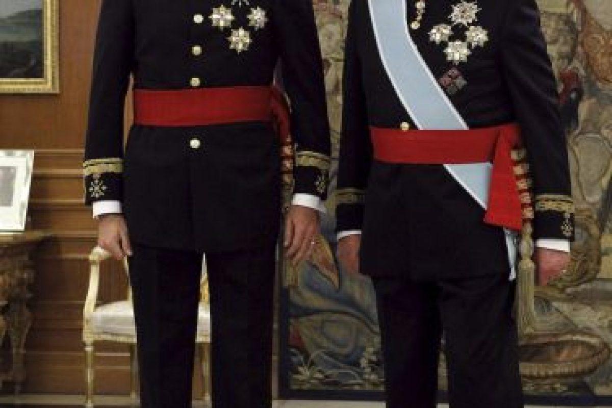 2014, durante su coronación como Rey de España Foto:Getty Images. Imagen Por: