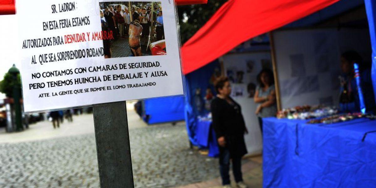 Líder de feriantes por amenaza de amarrar a delincuentes en Valparaíso: