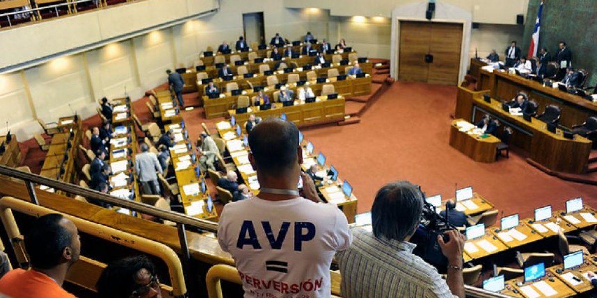 Con presencia de evangélicos y miembros del Movilh se aprobó el PUC en la Cámara Baja