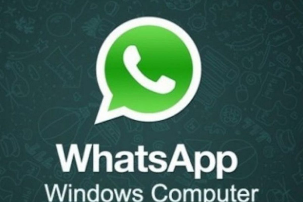 WhatsApp para PC no existe. Foto:vía Facebook. Imagen Por: