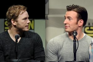 Chris Pratt y Chris Evans Foto: Getty Images. Imagen Por: