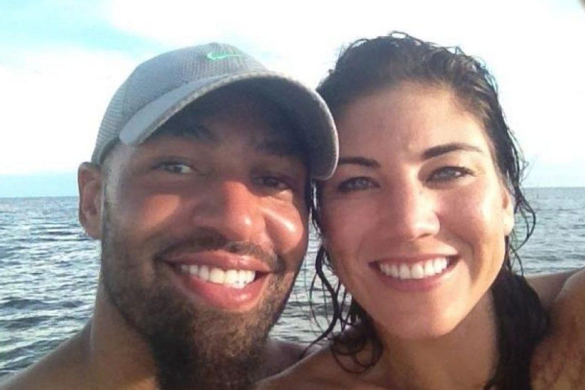 Hope Solo y Jerramy Stevens se casaron en 2012. Foto:facebook.com/hopesolo. Imagen Por:
