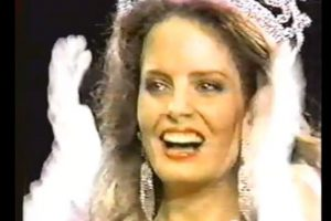 Miss Chile 1987 Foto:YouTube. Imagen Por:
