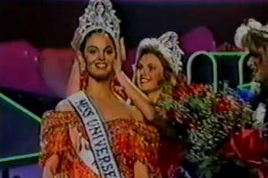 Miss México 1991 Foto:YouTube/Miss Universe. Imagen Por: