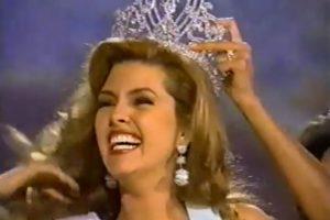 Miss Venezuela 1995 Foto:YouTube. Imagen Por: