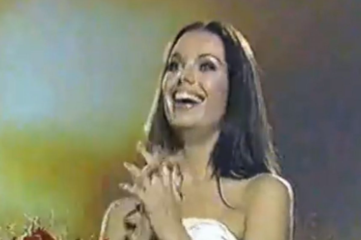Miss Panamá 2002 Foto:YouTube. Imagen Por: