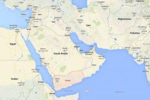 ¿Dónde está Yemen? Foto:Google Maps. Imagen Por: