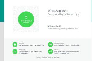 Si exceden el tiempo de espera, el sitio originará otro código. Foto:WhatsApp. Imagen Por: