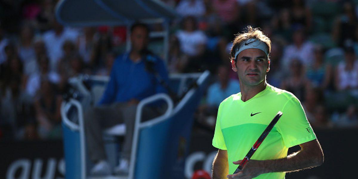 Sharapova se salvó y Federer pasó el primer susto en el cemento caliente de Melbourne