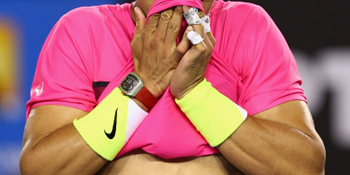 Nadal logró una épica victoria en Australia, ganándole a los calambres y a Smyczek