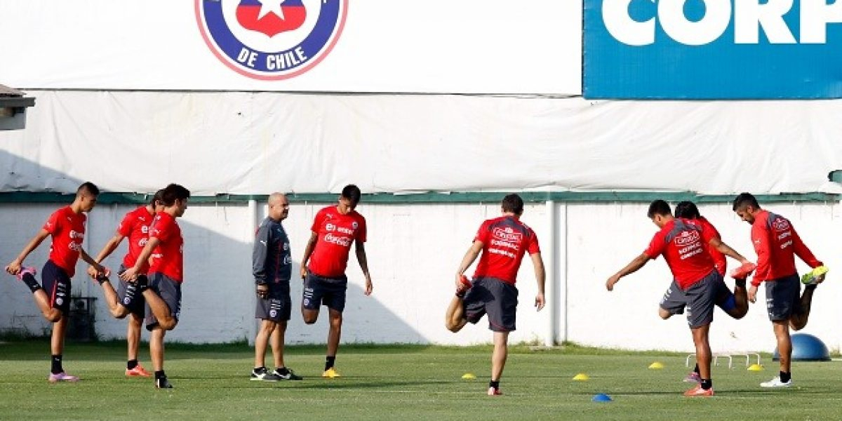 La Roja empezó sus entrenamientos llena de caras nuevas