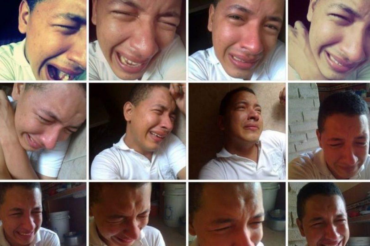 """""""Llegan las lágrimas"""" Foto:Guisadas y Ñeradas de Redes Sociales. Imagen Por:"""
