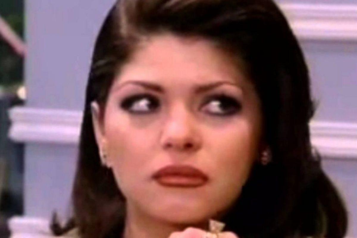 """En 2005 interpretó a """"Soraya Montenegro"""" Foto:Televisa. Imagen Por:"""