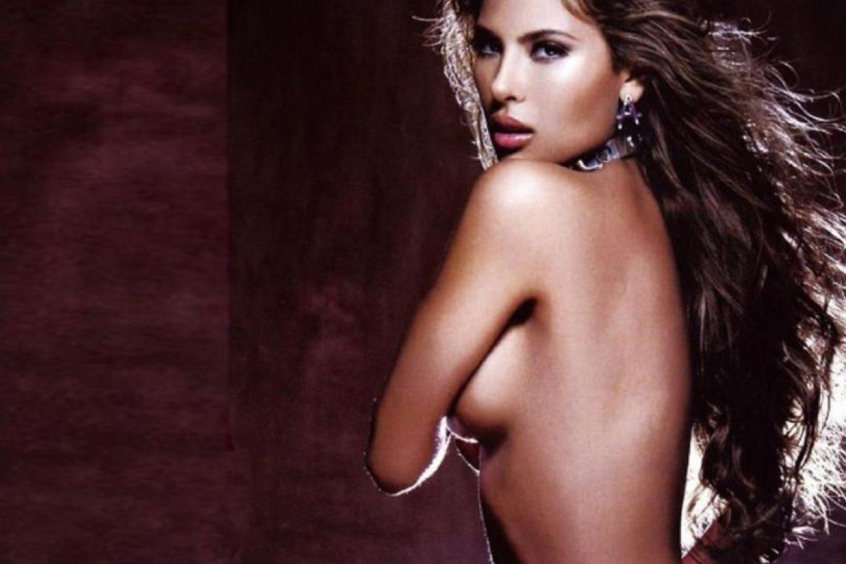 Angie Sanclemente. Colombiana, exreina de belleza. Foto:AFP/Getty Images. Imagen Por: