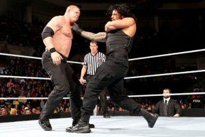 11. Roman Reigns tiene la marca de más eliminaciones en un mismo evento, con 12 en 2014 Foto:WWE. Imagen Por: