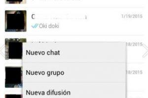 En su WhatsApp ingresen al menú WhatsApp Web. Foto:WhatsApp. Imagen Por: