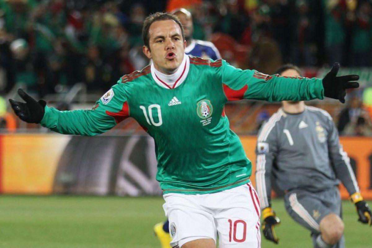 En Sudáfrica 2010 anotó un gol de penal contra Francia. Foto:Getty Images. Imagen Por: