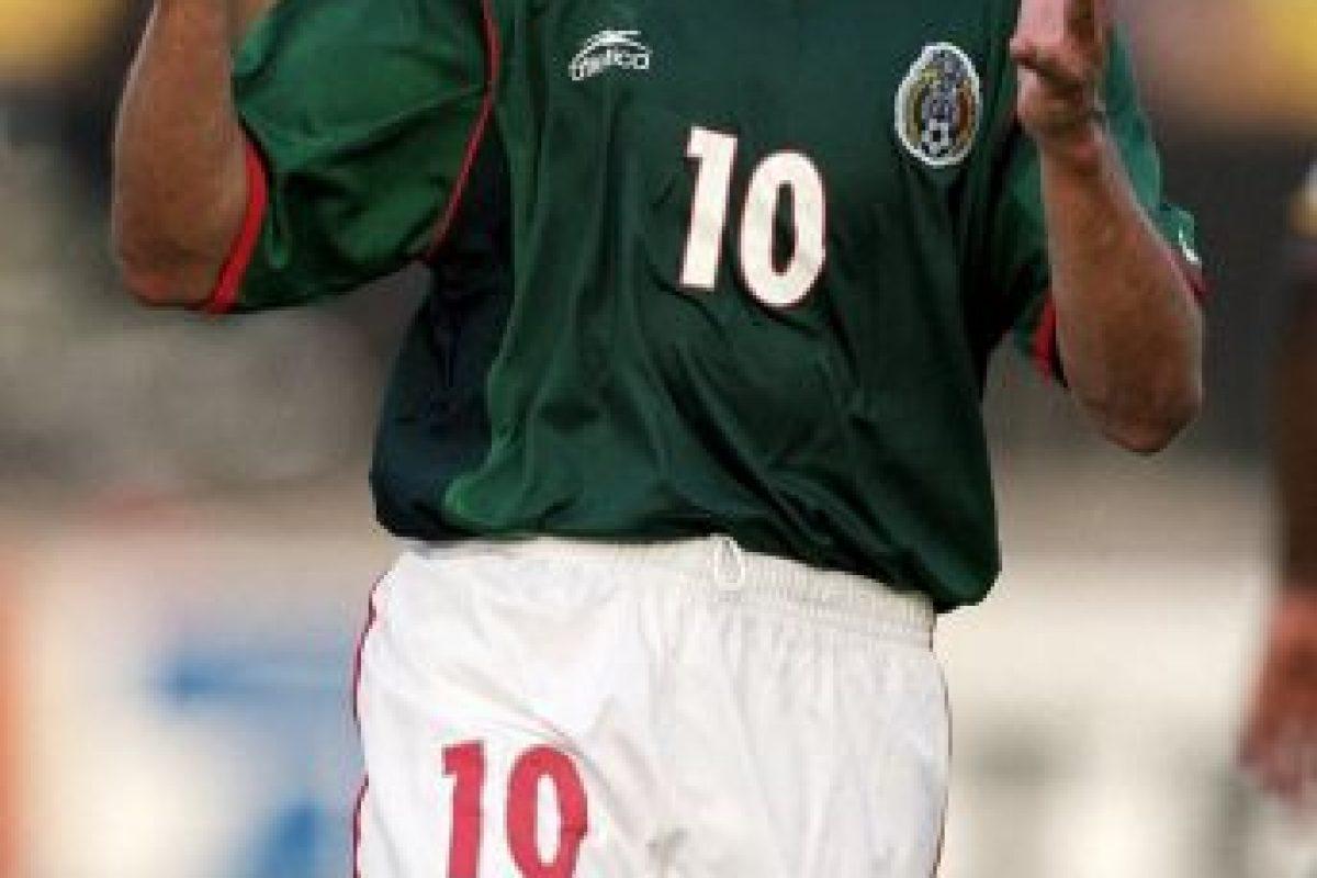 Fue parte de la Selección mexicana en el Mundial de Francia 98. Foto:Getty Images. Imagen Por: