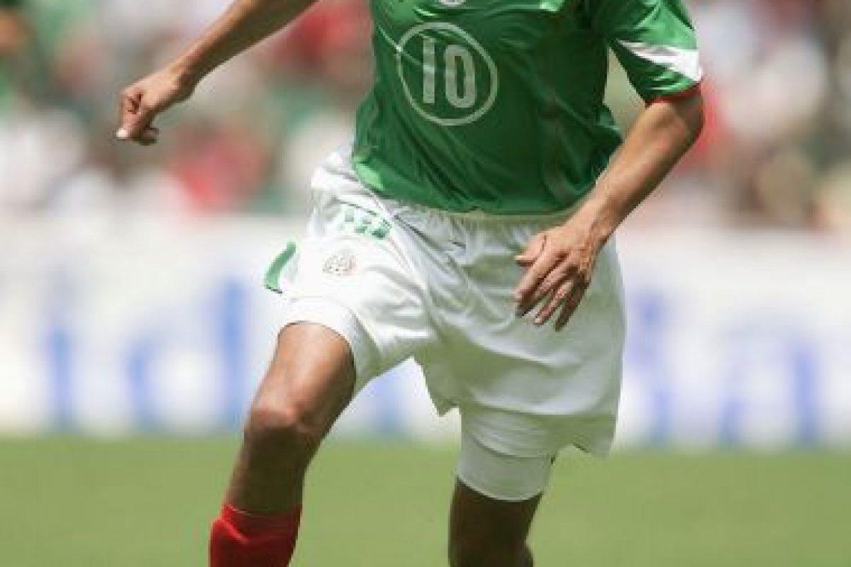Fue campeón con México en la Copa Confederaciones 1999. Foto:Getty Images. Imagen Por: