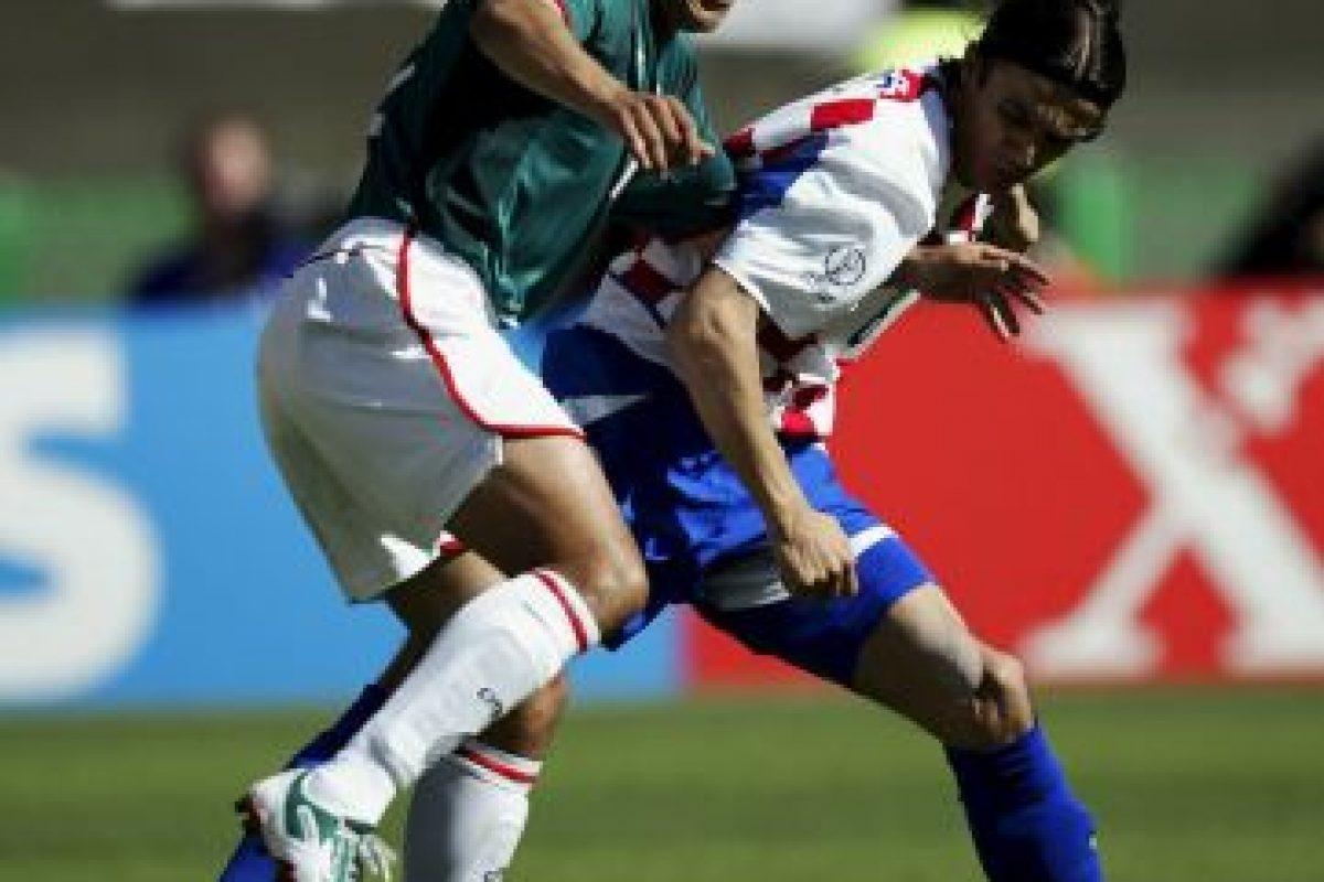 También fue parte del equipo en Cora-Japón 2002. Foto:Getty Images. Imagen Por: