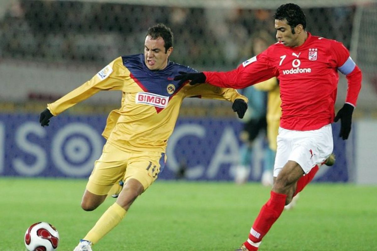 Disputó el Mundial de Clubes 2006 con el América. Foto:Getty Images. Imagen Por: