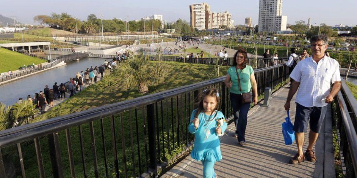 Abren al público el parque Renato Poblete en Quinta Normal