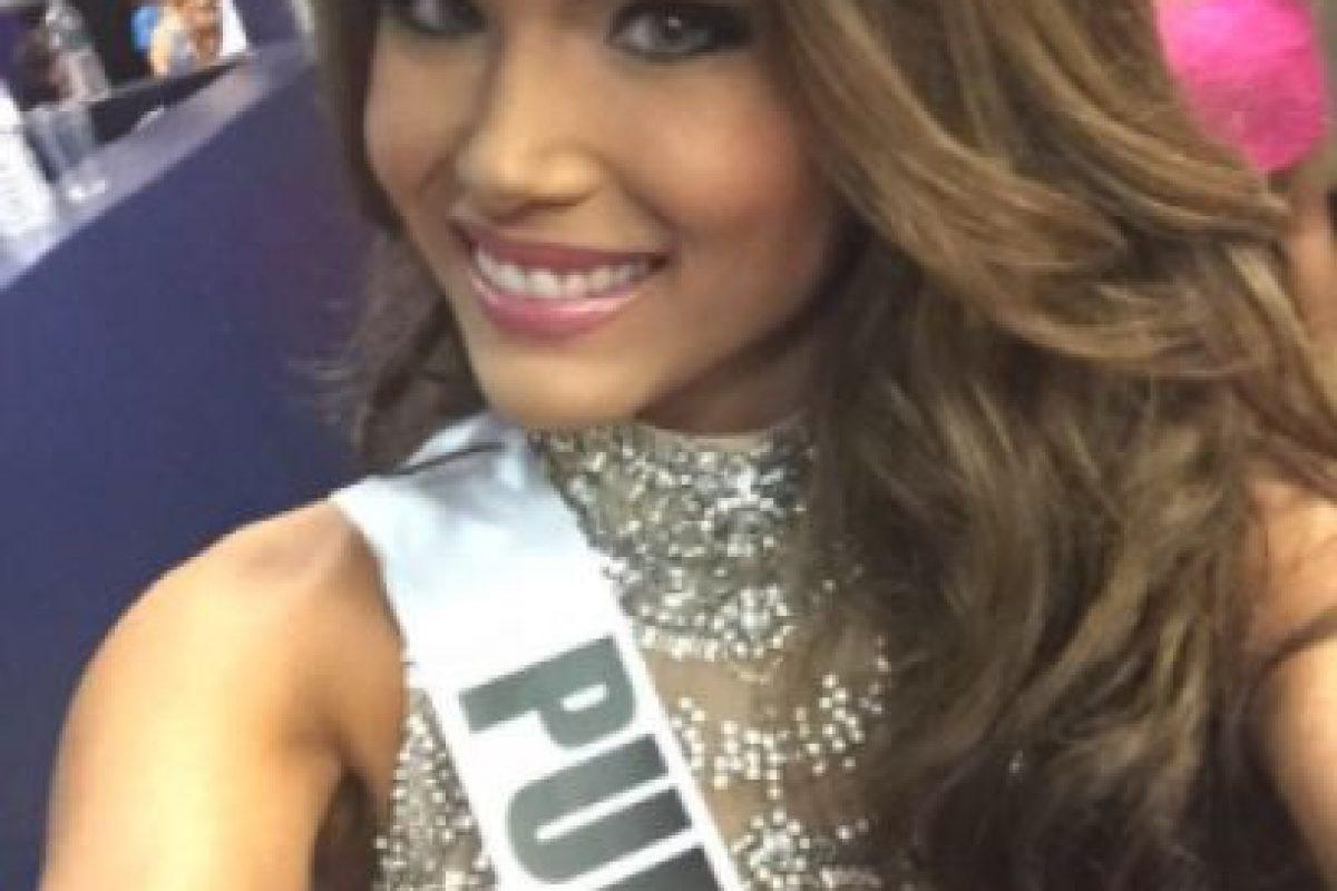 Otras de las favoritas latinas, Miss Puerto Rico Foto:Twitter/Miss Universo. Imagen Por: