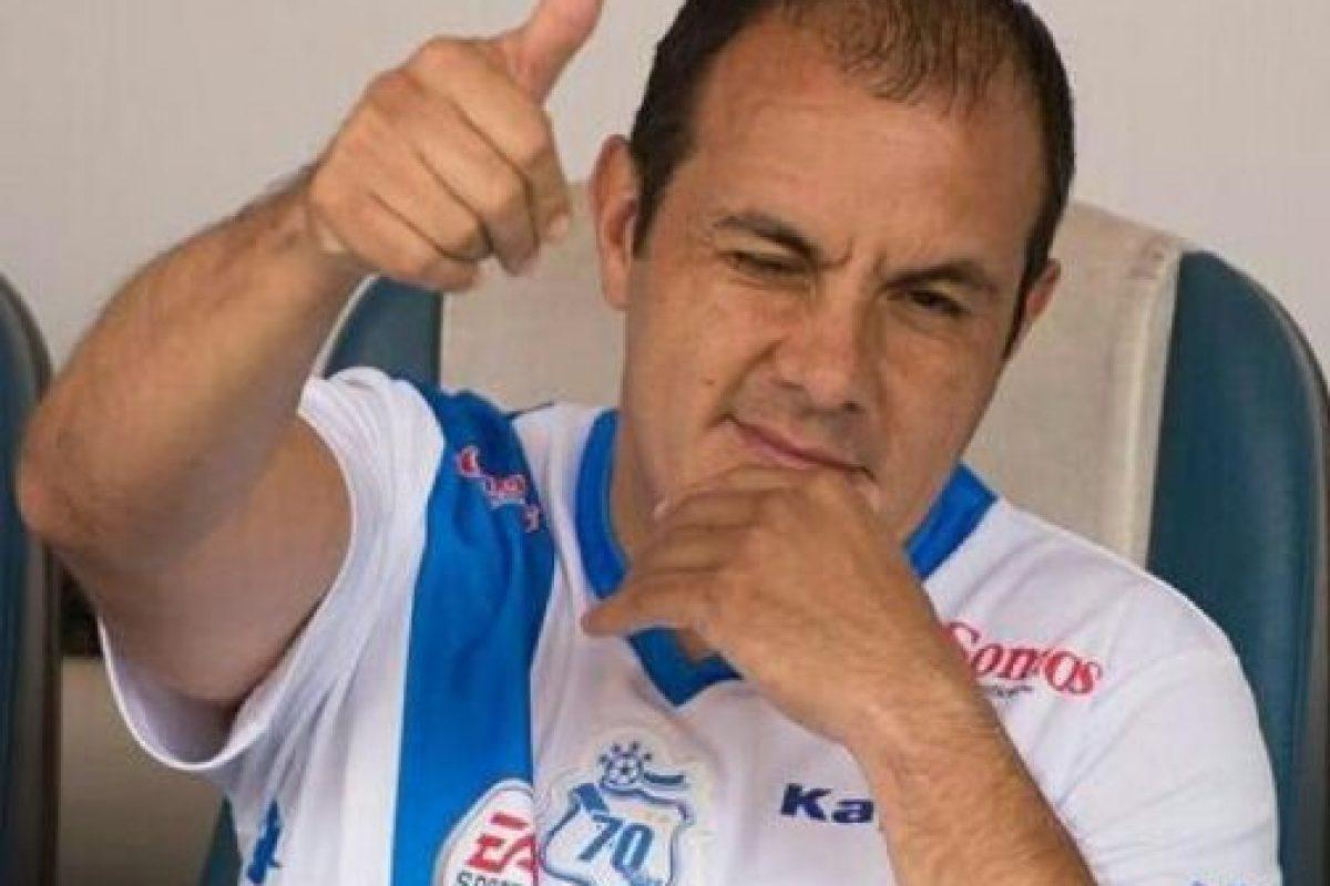 Blanco es jugador del Puebla de México. Foto:twitter.com/cuauhtemocb10. Imagen Por: