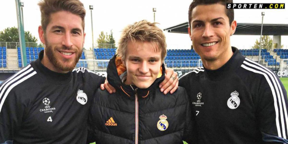 Ødegaard, la joya juvenil de Real Madrid se tuvo que olvidar de su