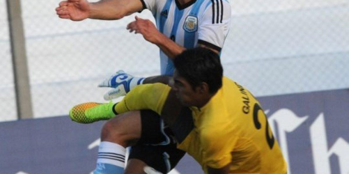 Sub 20: Con gran actuación de Simeone, Argentina venció a Bolivia y avanzó al hexagonal