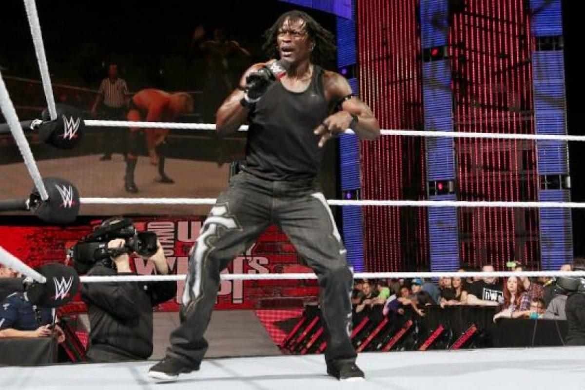 R-Truth Foto:WWE. Imagen Por: