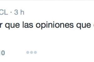 Aclaró que todo lo hacía para denunciar. Foto:Twitter/FútbolTotal Chile. Imagen Por: