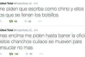 Las pobres condiciones en las que vive. Foto:Twitter/FútbolTotal Chile. Imagen Por: