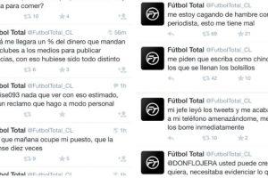 En Twitter ha recibido apoyo y críticas por parte de usuarios de todo el mundo. Foto:Twitter/FútbolTotal Chile. Imagen Por:
