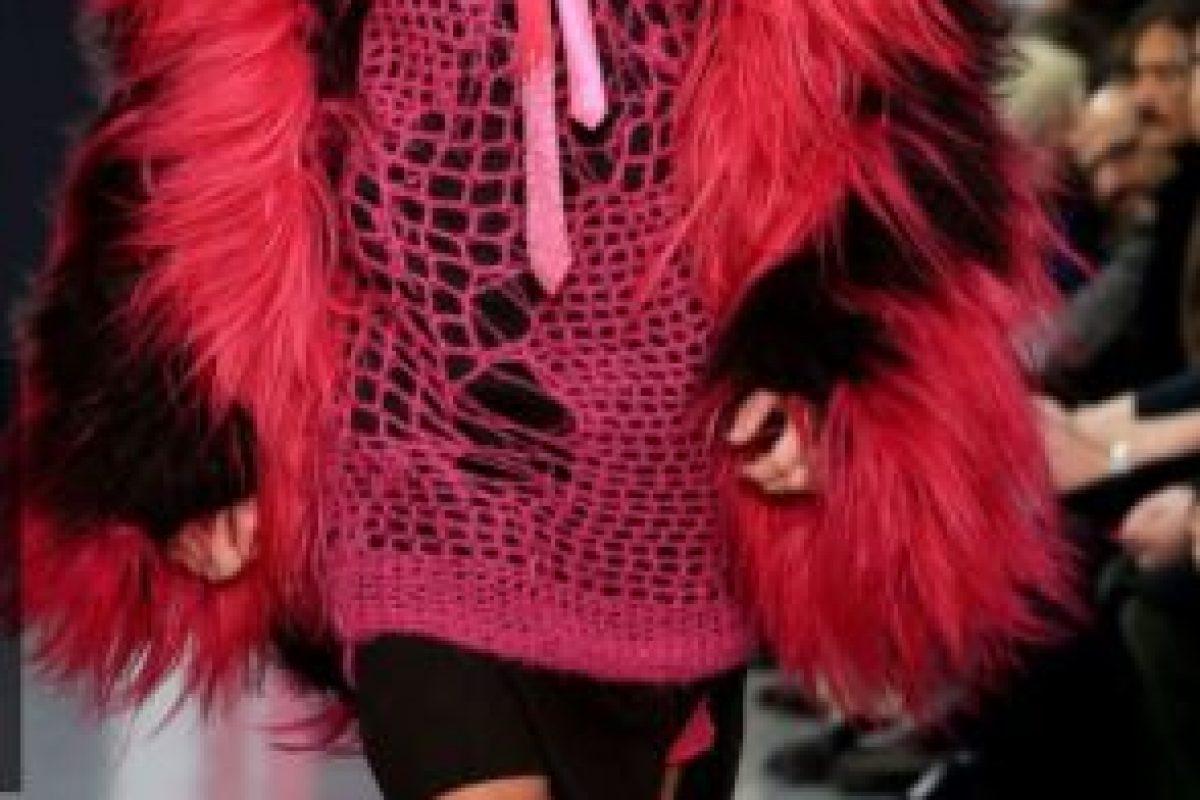 Miley en rosa y en niño. Foto:Getty Images. Imagen Por: