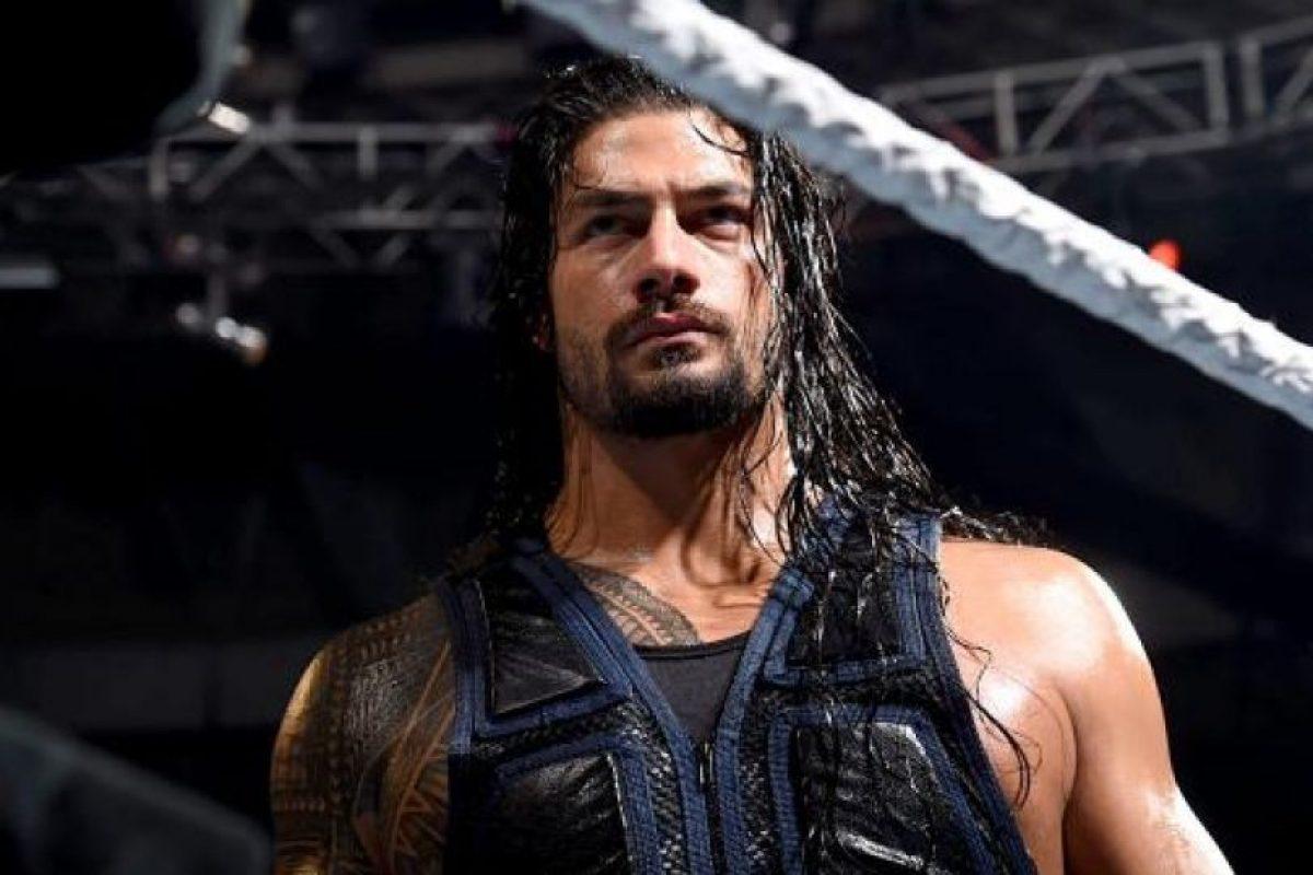 Roman Reigns Foto:WWE. Imagen Por:
