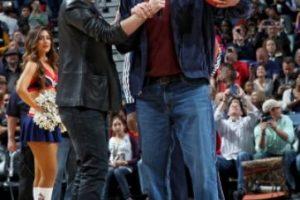 Ferrell se presentó en el estadio de los Pelícanos. Foto:twitter.com/PelicansNBA. Imagen Por: