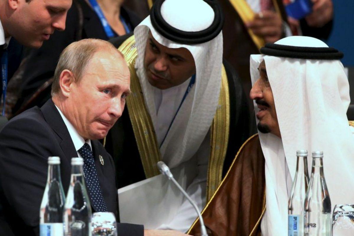 Salmán bin Abdulaziz, de Arabia Saudita Foto:Getty Images. Imagen Por: